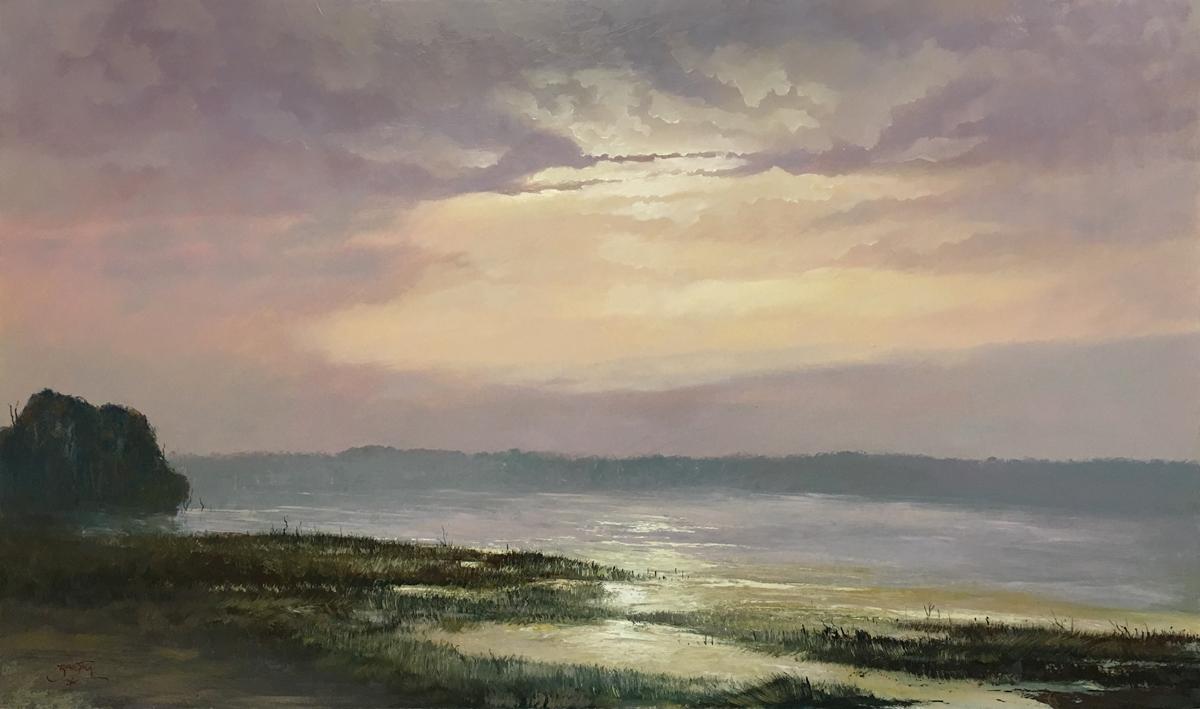Sunrise at Gravelly Beach